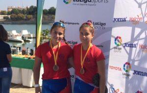 Maria Monfort i Celia Fernández, bronze al 2xJF